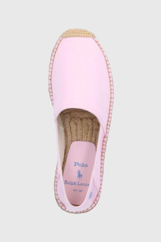 różowy Polo Ralph Lauren - Espadryle
