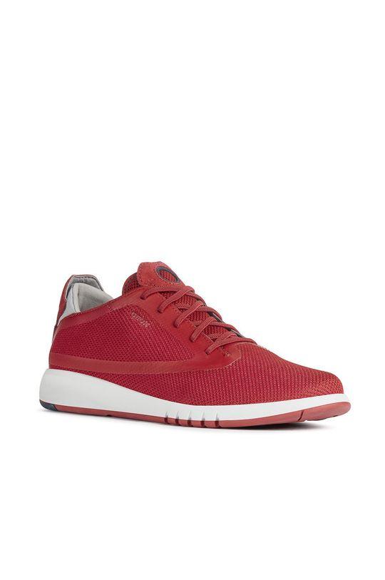 Geox - Boty červená
