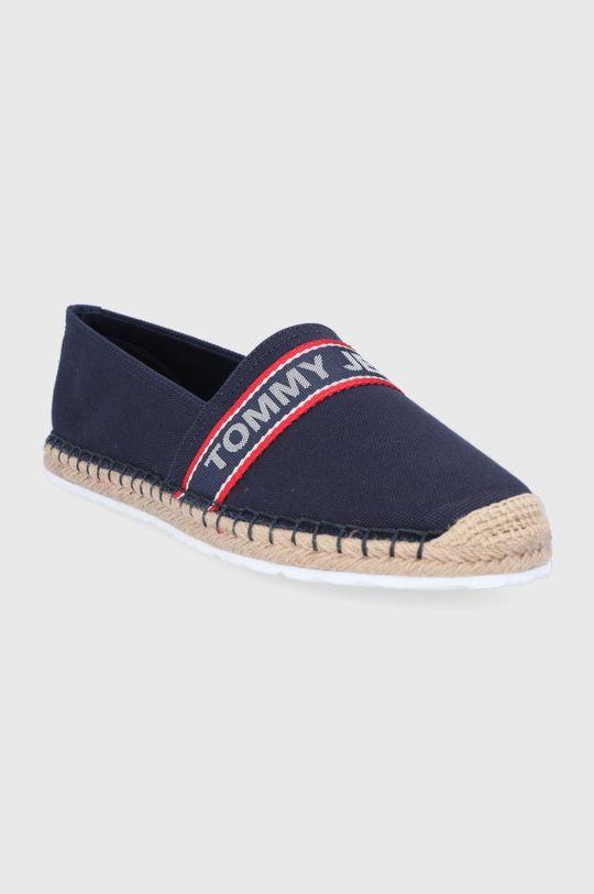 Tommy Jeans - Espadrilky námořnická modř