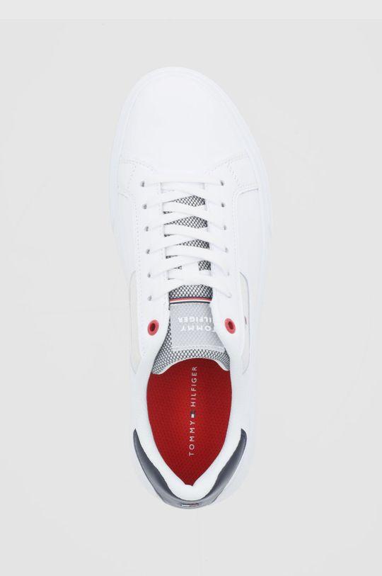 bílá Tommy Hilfiger - Kožené boty