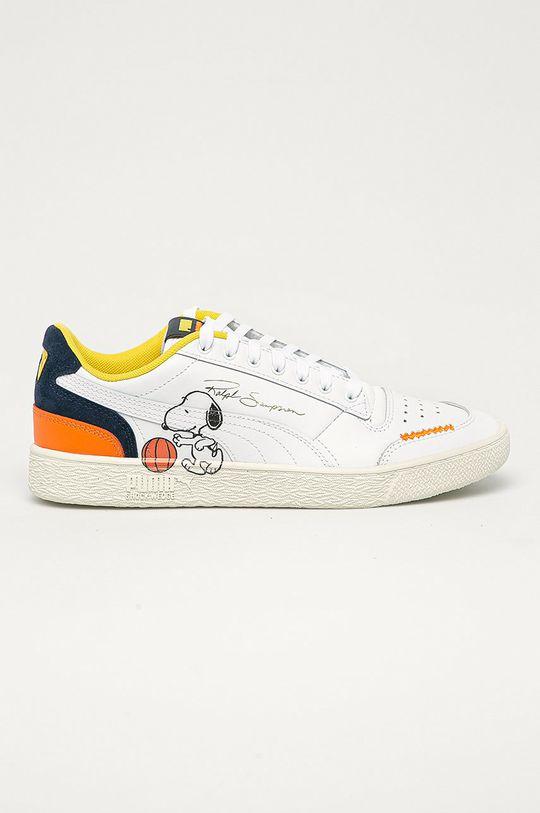 bílá Puma - Kožené boty X Peanuts Ralph Sampson Unisex