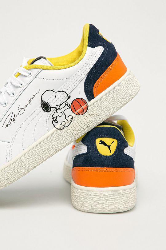 Puma - Kožené boty X Peanuts Ralph Sampson  Svršek: Přírodní kůže Vnitřek: Textilní materiál Podrážka: Umělá hmota