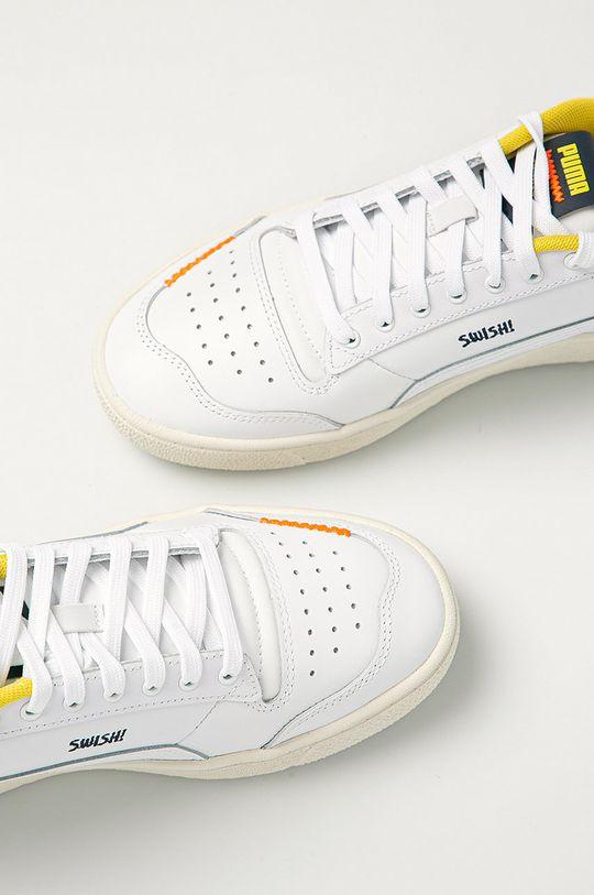 bílá Puma - Kožené boty X Peanuts Ralph Sampson