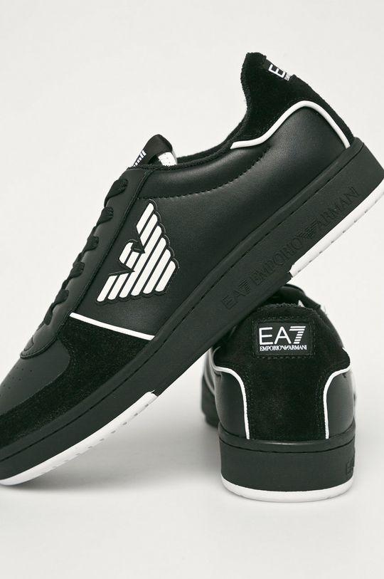 EA7 Emporio Armani - Topánky  Zvršok: Syntetická látka, Textil, Prírodná koža