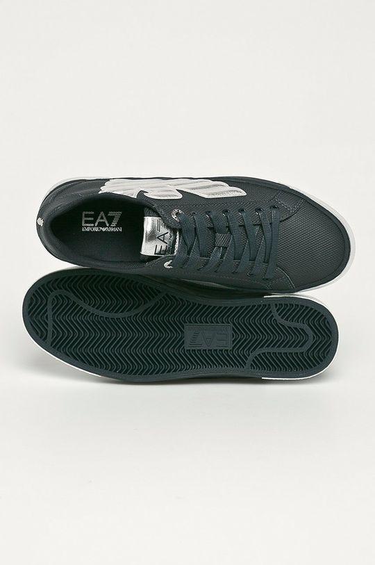 tmavomodrá EA7 Emporio Armani - Topánky
