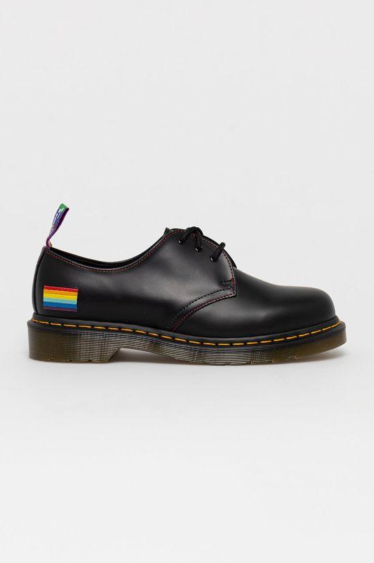 czarny Dr. Martens - Półbuty skórzane 1461 For Pride Unisex