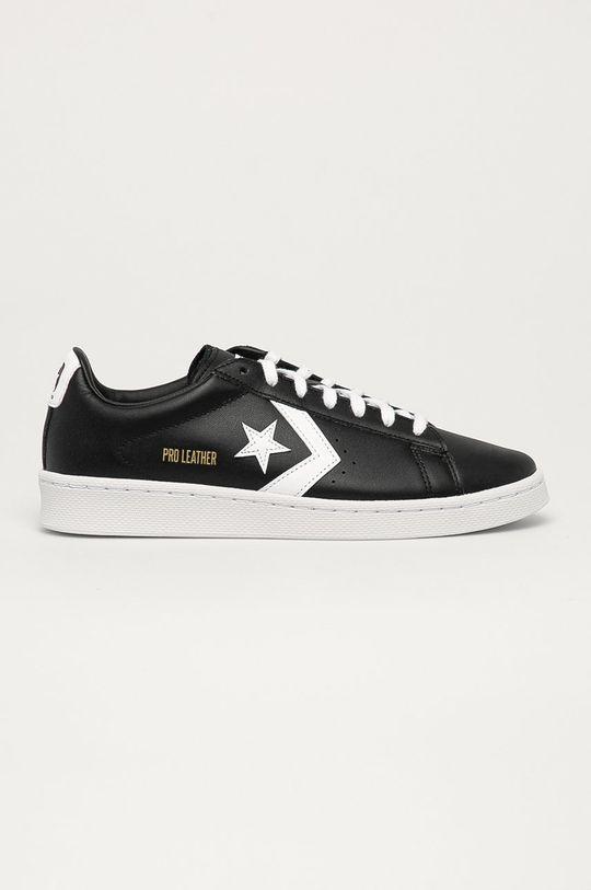 černá Converse - Kožené boty Unisex