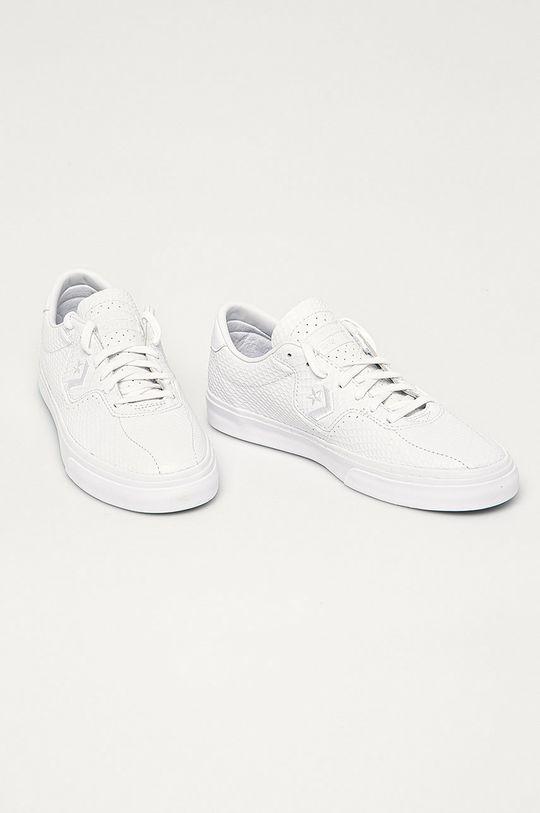 Converse - Kožené tenisky 170432C biela