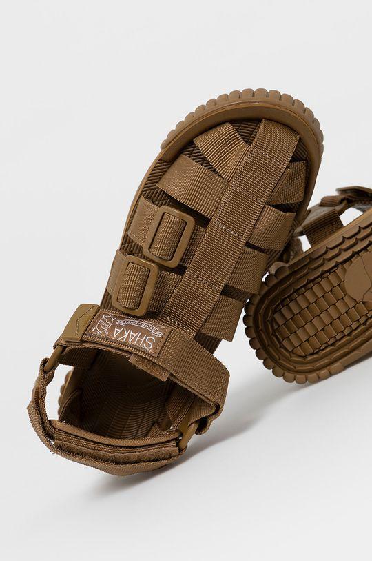 brązowy Shaka - Sandały