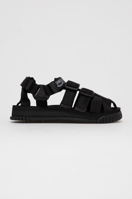 czarny Shaka - Sandały Unisex