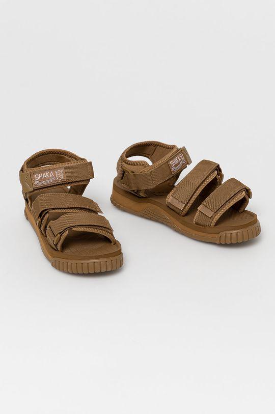 Shaka - Sandały brązowy