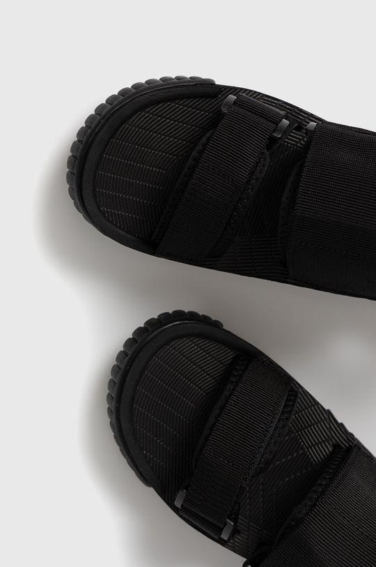 čierna Shaka - Sandále