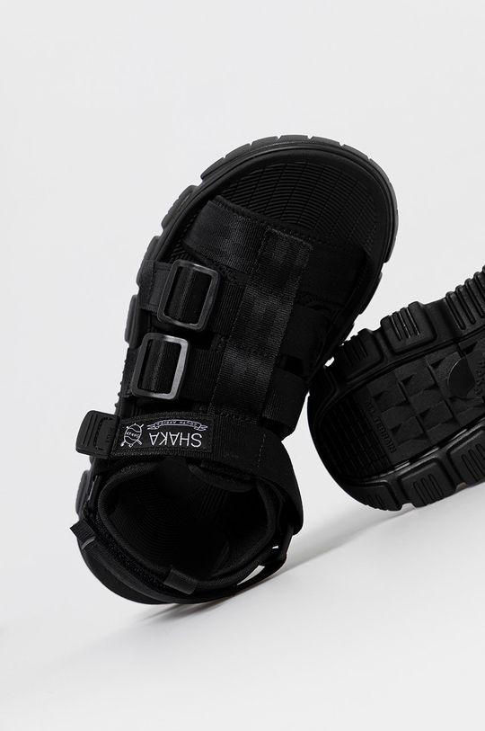 czarny Shaka - Sandały