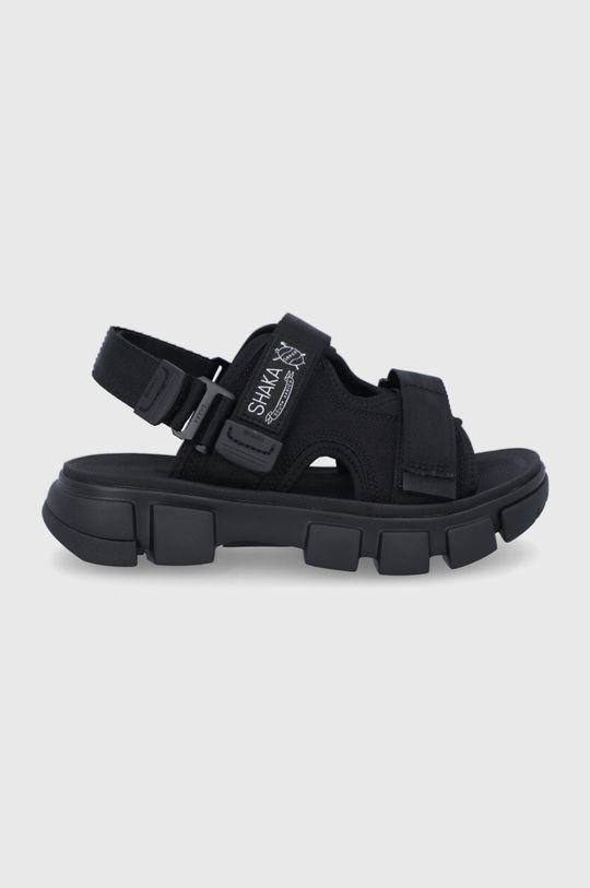 černá Shaka - Sandály Unisex