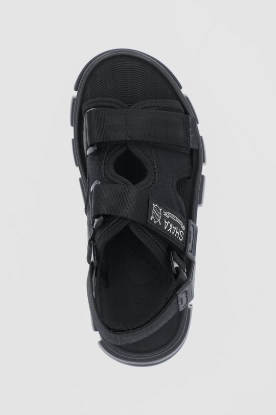 černá Shaka - Sandály