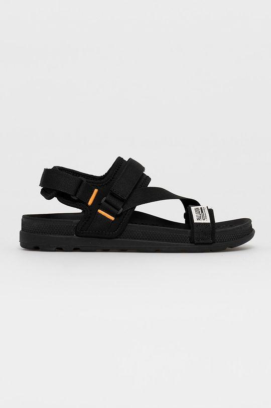 čierna Palladium - Sandále Unisex