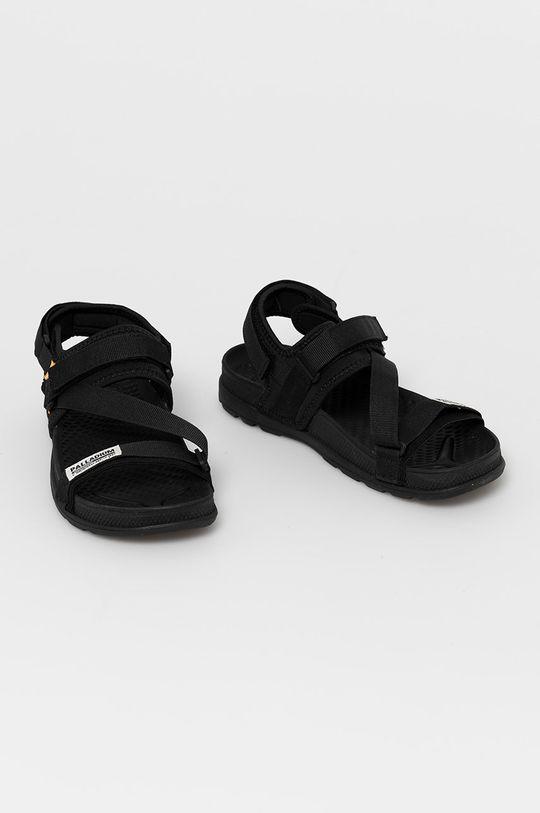 Palladium - Sandále čierna