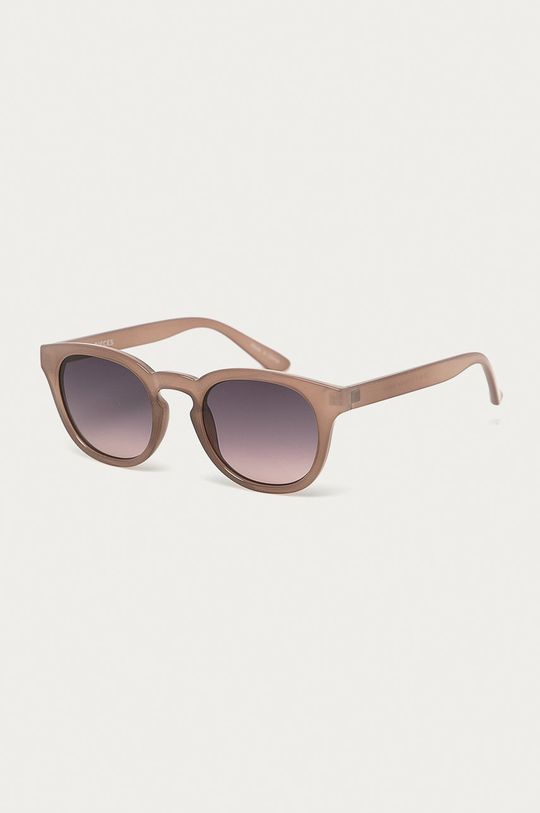 brudny róż Pieces - Okulary przeciwsłoneczne Damski