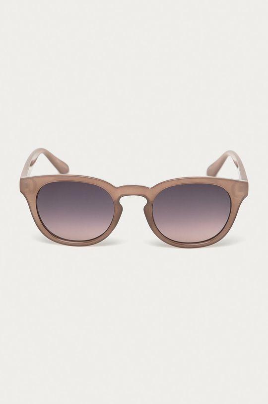 Pieces - Okulary przeciwsłoneczne brudny róż