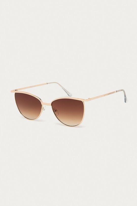 zlatá Pieces - Slnečné okuliare Dámsky