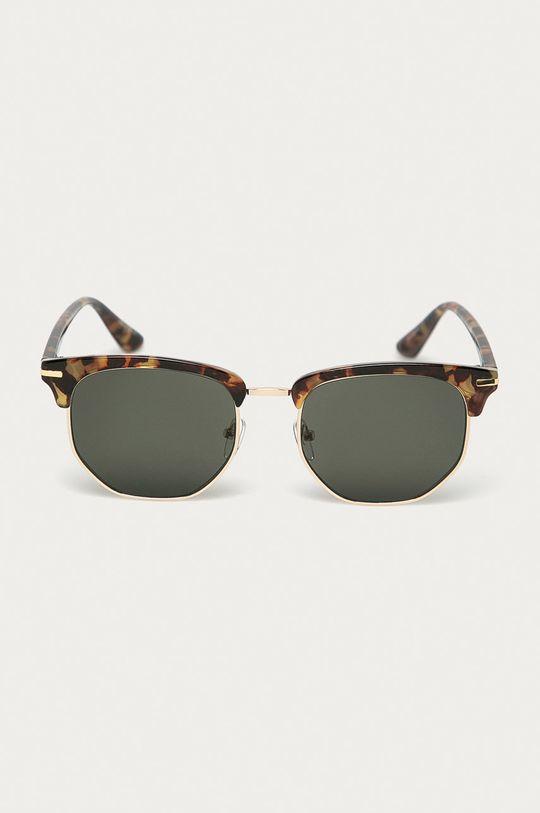 Pieces - Sluneční brýle zlatá