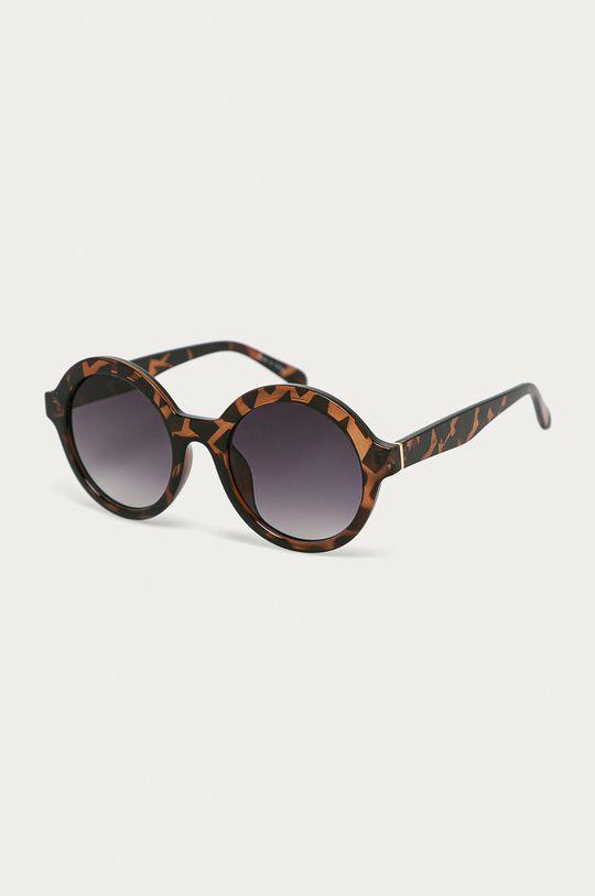 kawowy Vero Moda - Okulary przeciwsłoneczne Damski