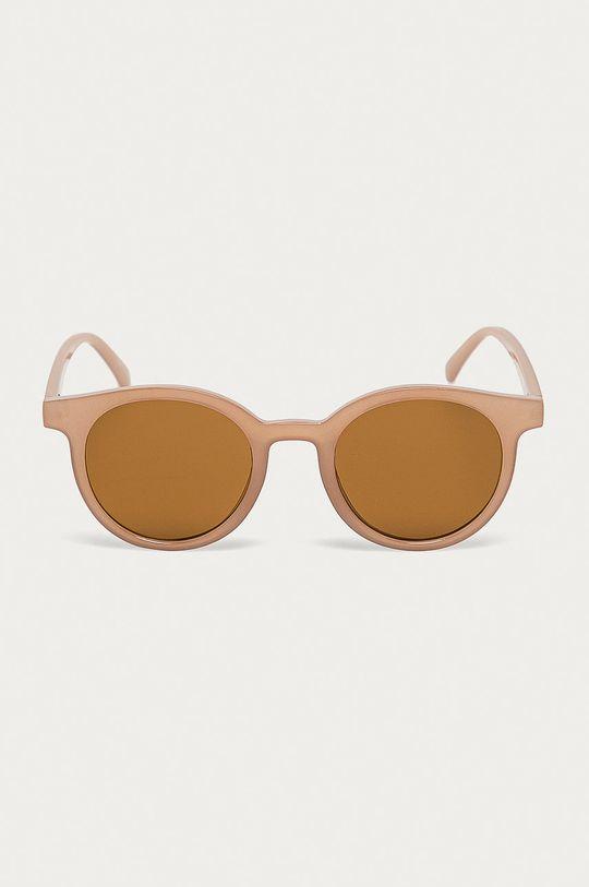 Vero Moda - Sluneční brýle tmavě hnědá