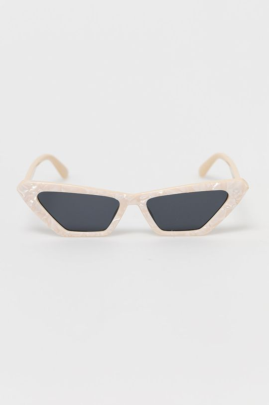 Only - Okulary przeciwsłoneczne kremowy