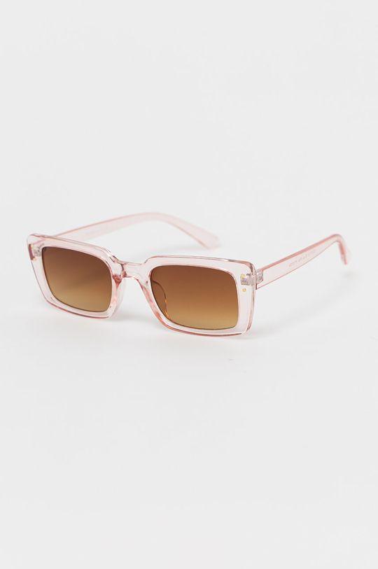 pastelowy różowy Only - Okulary przeciwsłoneczne Damski