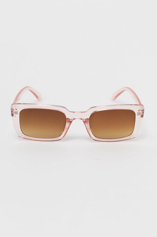 Only - Okulary przeciwsłoneczne pastelowy różowy