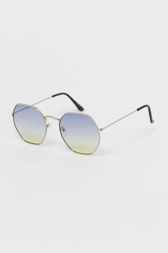 srebrny Only - Okulary przeciwsłoneczne Damski