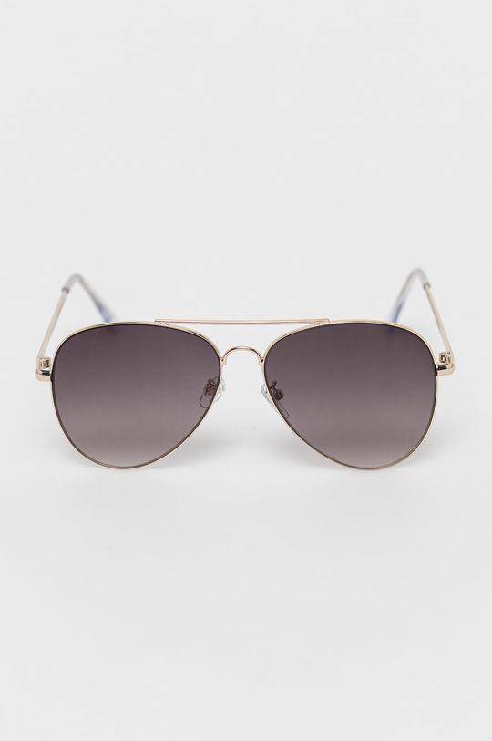 Only - Okulary przeciwsłoneczne złoty