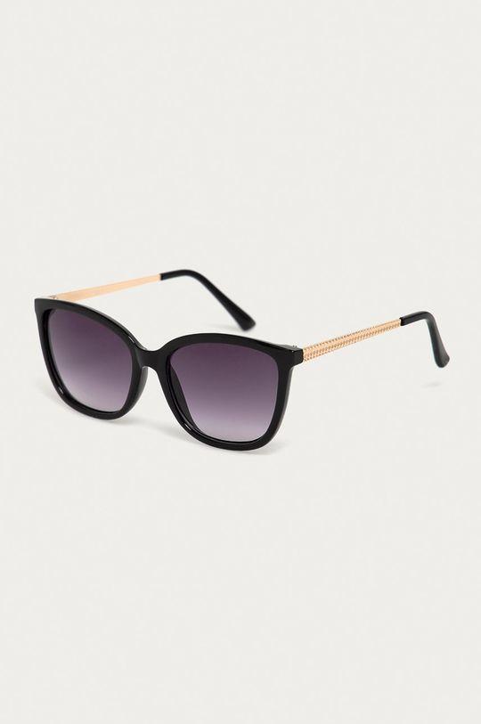 czarny Haily's - Okulary przeciwsłoneczne Damski