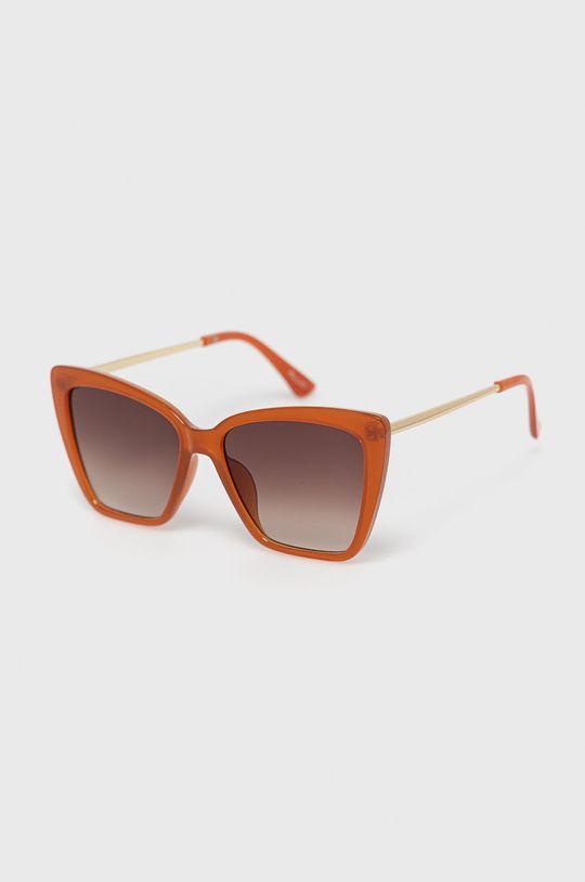 złoty brąz Aldo - Okulary przeciwsłoneczne Miriathiel Damski