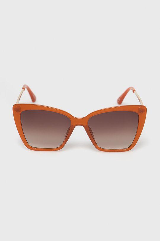 Aldo - Okulary przeciwsłoneczne Miriathiel złoty brąz