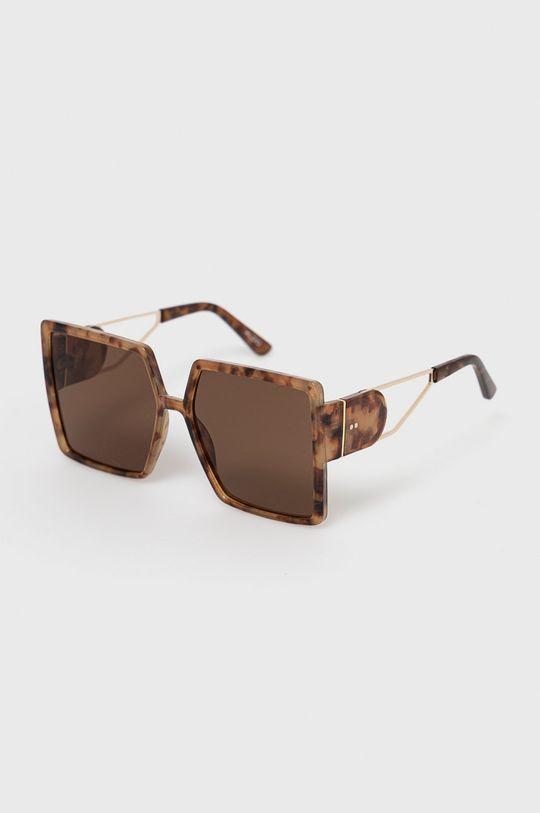brązowy Aldo - Okulary przeciwsłoneczne Damski