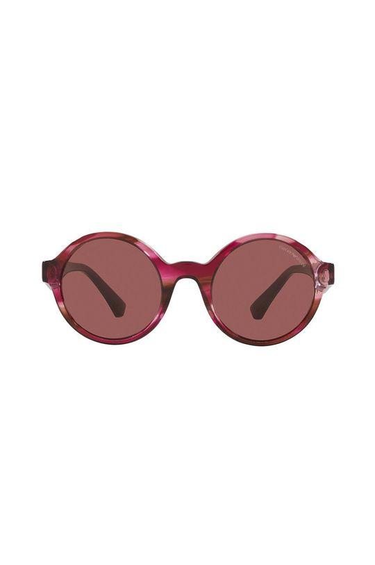Emporio Armani - Okulary przeciwsłoneczne fuksja