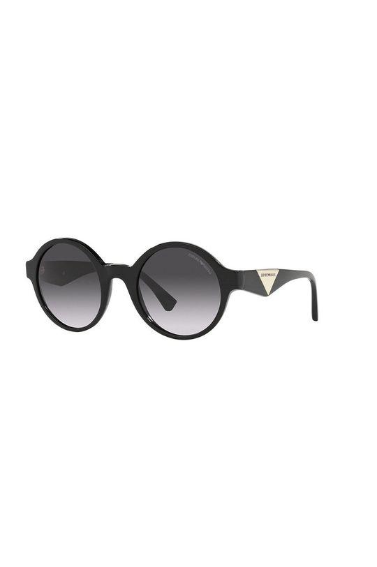 czarny Emporio Armani - Okulary przeciwsłoneczne Damski