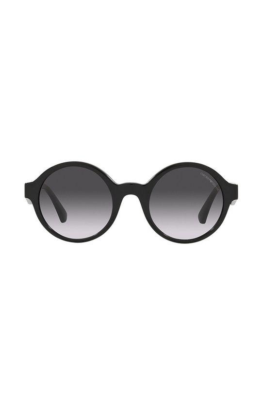 Emporio Armani - Okulary przeciwsłoneczne czarny
