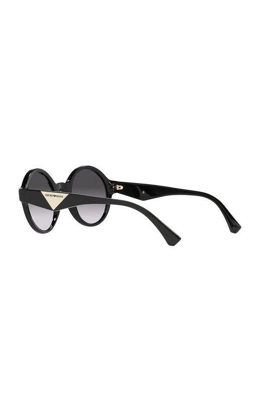 czarny Emporio Armani - Okulary przeciwsłoneczne