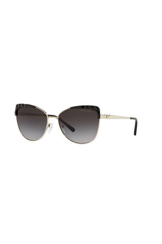 złoty MICHAEL Michael Kors - Okulary przeciwsłoneczne 0MK1084 Damski