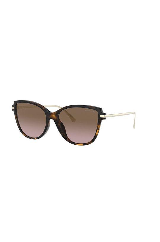 brązowy MICHAEL Michael Kors - Okulary przeciwsłoneczne 0MK2130U Damski