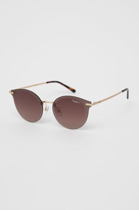 złoty Pepe Jeans - Okulary przeciwsłoneczne Amara Damski
