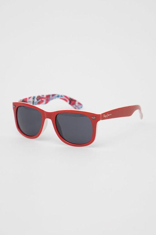 czerwony Pepe Jeans - Okulary przeciwsłoneczne 40 Anniversary Damski