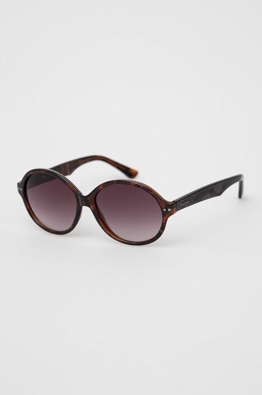 brązowy Pepe Jeans - Okulary przeciwsłoneczne Tortoise Rounded Damski