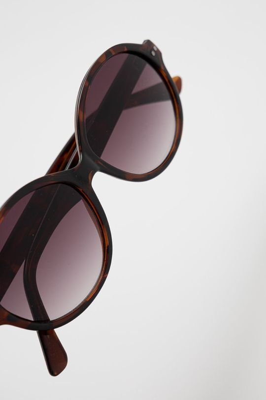 Pepe Jeans - Okulary przeciwsłoneczne Tortoise Rounded Materiał syntetyczny