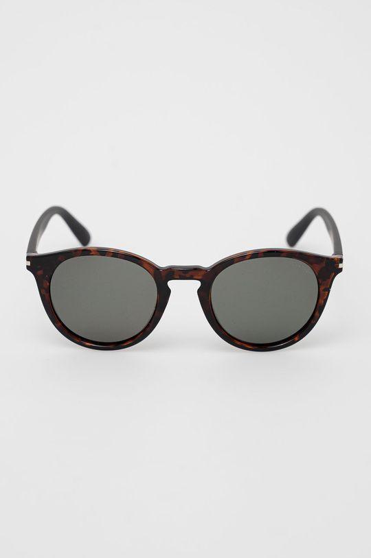 Pepe Jeans - Okulary przeciwsłoneczne Round Pantos brązowy