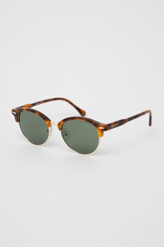 zlatá Pepe Jeans - Sluneční brýle Round Clubmaster Dámský