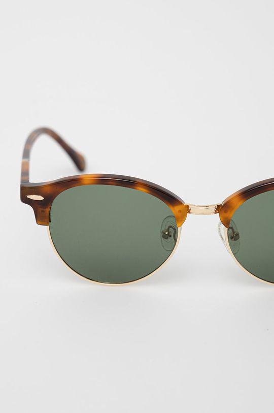 Pepe Jeans - Sluneční brýle Round Clubmaster zlatá