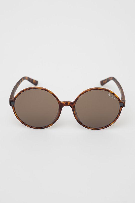 Pepe Jeans - Okulary przeciwsłoneczne brązowy